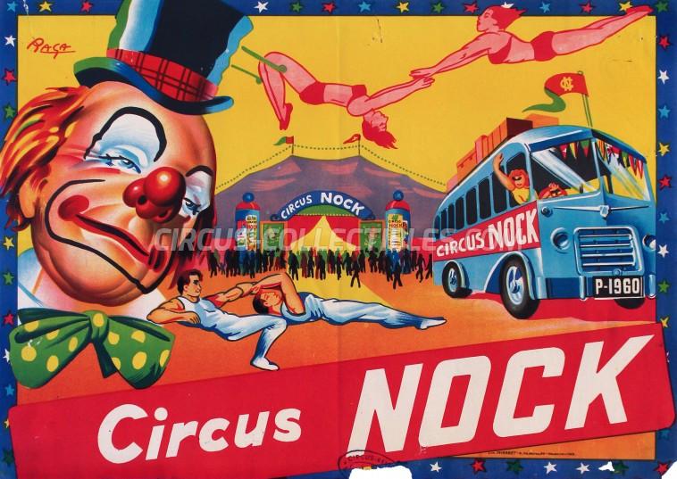 Nock Circus Poster - Switzerland, 1962