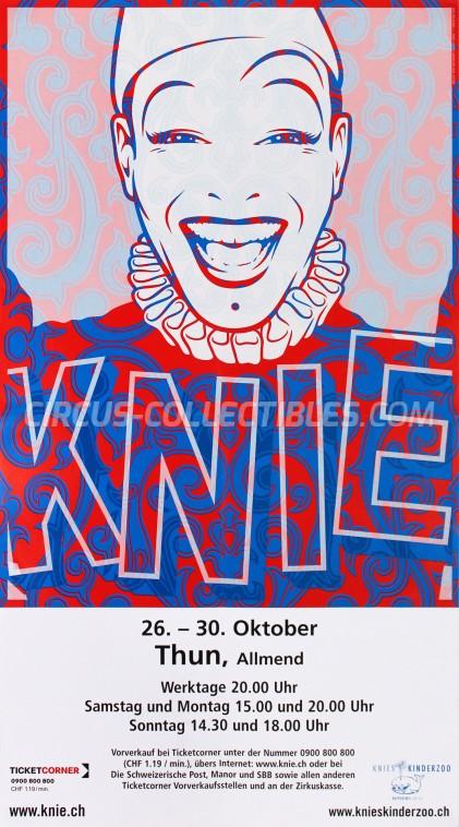 Knie Circus Poster - Switzerland, 2007