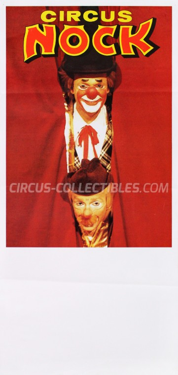 Nock Circus Poster - Switzerland, 1985