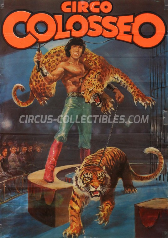Colosseo Circus Poster - Italy, 0