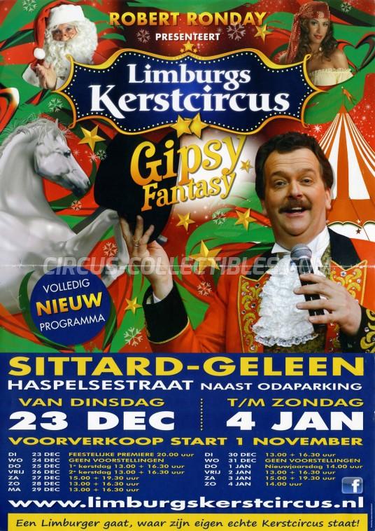 Kerstcircus Circus Poster - Netherlands, 2014