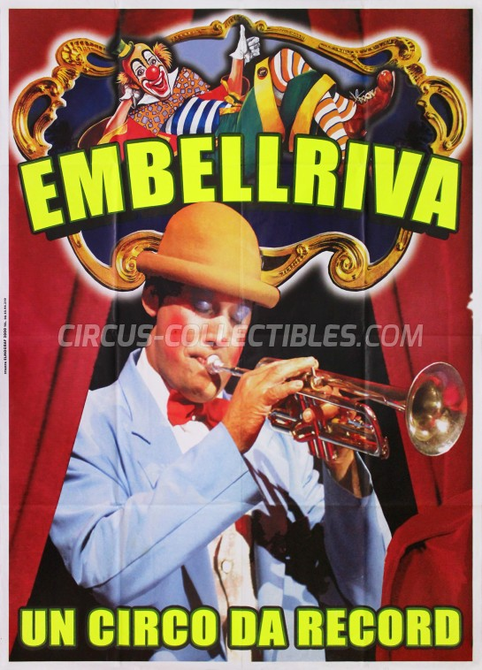 Embell Riva Circus Poster - Italy, 2006