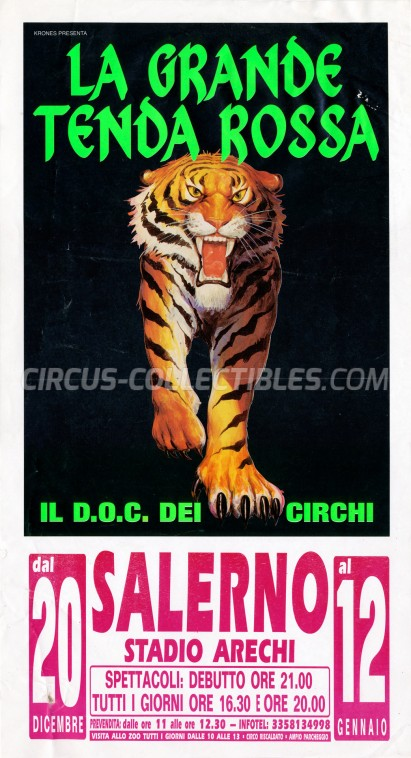 Krones Circus Poster - Italy, 2002