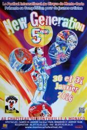 5eme New Generation Circus poster - Monaco, 2016