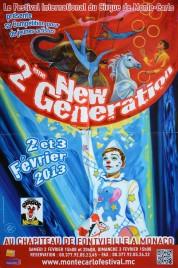 2eme New Generation Circus poster - Monaco, 2013