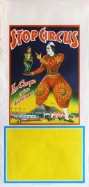 Stop Circus Circus poster - Italy, 1973