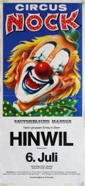 Circus Nock Circus poster - Switzerland, 1976