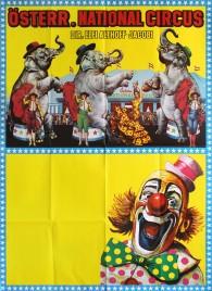 Österreichischer National Circus Elfi Althoff-Jacobi Circus poster - Austria, 1987