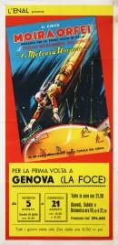 Circo Moira Orfei Circus poster - Italy, 1966