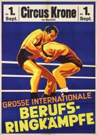 Circus Krone Circus poster - Germany, 0