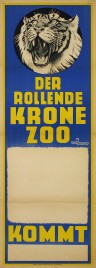 Circus Krone Circus poster - Germany, 1949