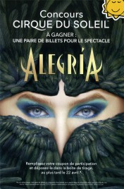 Cirque Du Soleil - Alegria Circus poster - Canada, 2019