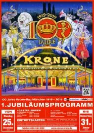 Circus Krone Circus poster - Germany, 2018