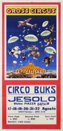 Circo Buks Circus poster - Italy, 1965