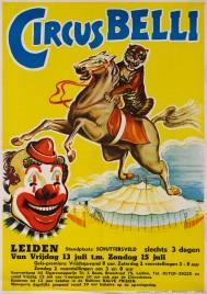 Circus Belli Circus poster - Netherlands, 1962