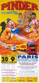 Pinder - Jean Richard Circus poster - France, 1999