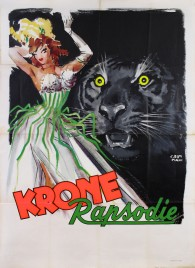 Circus Krone Circus poster - Germany, 1956