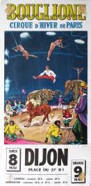 Bouglione - Cirque d'Hiver de Paris Circus poster - France, 1970