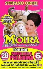 Circo Moira Orfei Circus poster - Italy, 2019