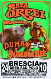 Circo Maya Orfei Circus poster - Italy, 2019