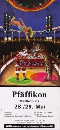 Circus Pajazzo Circus poster - Switzerland, 1994