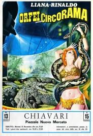 Liana e Rinaldo - Orfei Circorama Circus poster - Italy, 1979