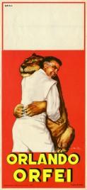 Circo Orlando Orfei Circus poster - Italy, 1965