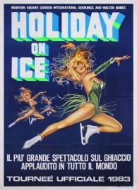 Holiday On Ice Circus poster - USA, 1983