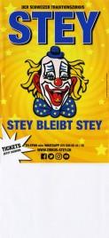 Zirkus Stey Circus poster - Switzerland, 2020