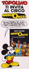 Circo Nando Orfei Circus poster - Italy, 1982