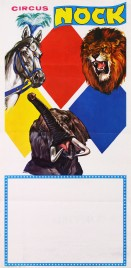 Circus Nock Circus poster - Switzerland, 1977