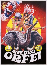 Circo Amedeo Orfei Circus poster - Italy, 2009