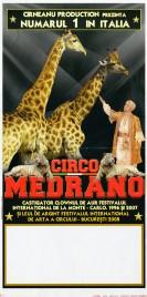 Circo Medrano Circus poster - Italy, 2009