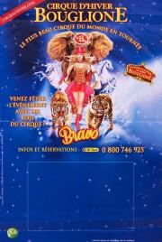 Bouglione - Cirque d'Hiver - Bravo Circus poster - France, 2015