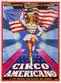 Circo Americano Circus poster - Italy, 1965
