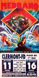 Cirque Medrano Circus poster - France, 0