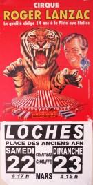 Cirque Roger Lanzac Circus poster - France, 0