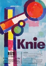 Circus Knie Circus poster - Switzerland, 1959