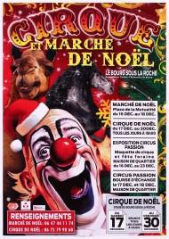 Cirque de Noël Circus poster - France, 2016