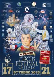 20th International Circus Festival City of Latina Circus poster - Italy, 2019
