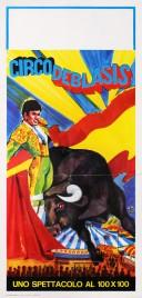 Circo de Blasis Circus poster - Italy, 1975