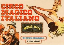 Circo Magico Italiano Circus poster - Mexico, 1979