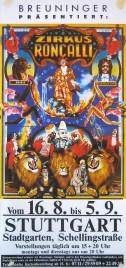 Zirkus Roncalli Circus poster - Germany, 0