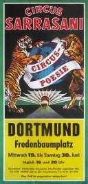 Circus Sarrasani Circus poster - Germany, 1984