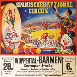 Spanischer National Circus Circus poster - Germany, 1966