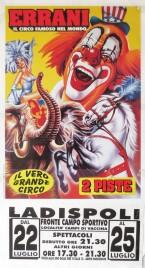 Circo Errani Circus poster - Italy, 0