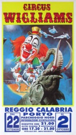 Circus Wigliams Circus poster - Italy, 0
