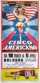 Circo Americano Circus poster - Italy, 1966