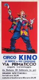 Circo Kino Circus poster - Italy, 1984