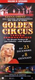 Liana Orfei presenta XXII Golden Circus Circus poster - Italy, 2005